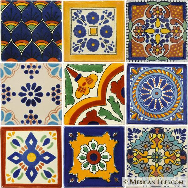 Mexican Tile   MexicanTilescom Mexican Tile Talavera 600x600