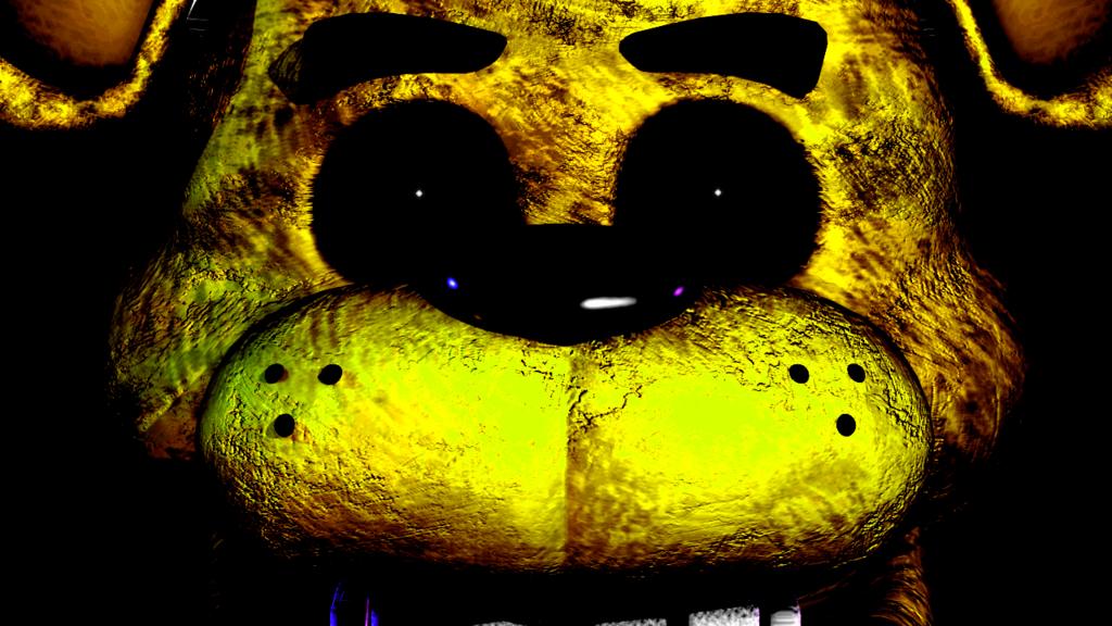 FNAF Golden Freddy by WyvernX1 1024x576