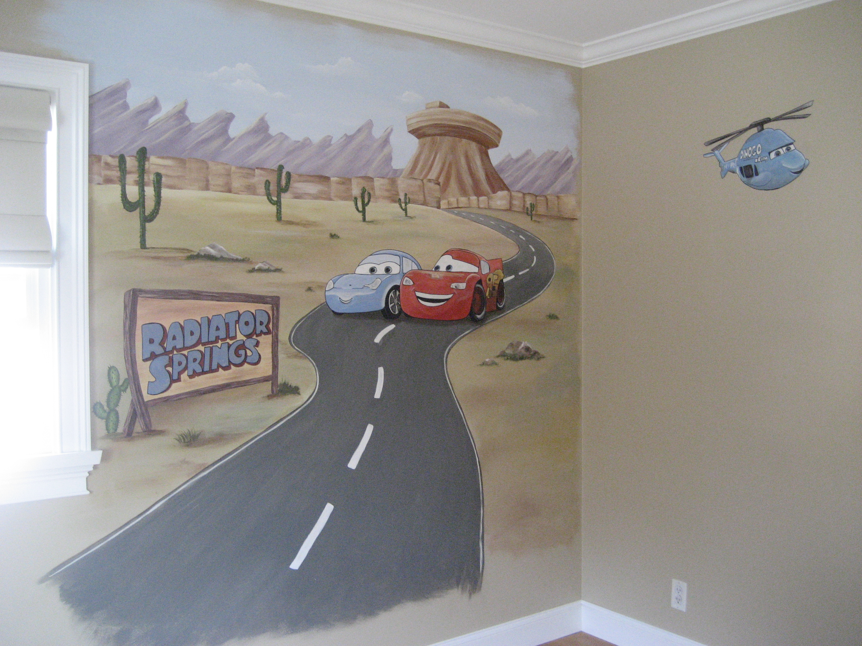 related pictures hand painted murals wallpaper murals Car Pictures 2816x2112