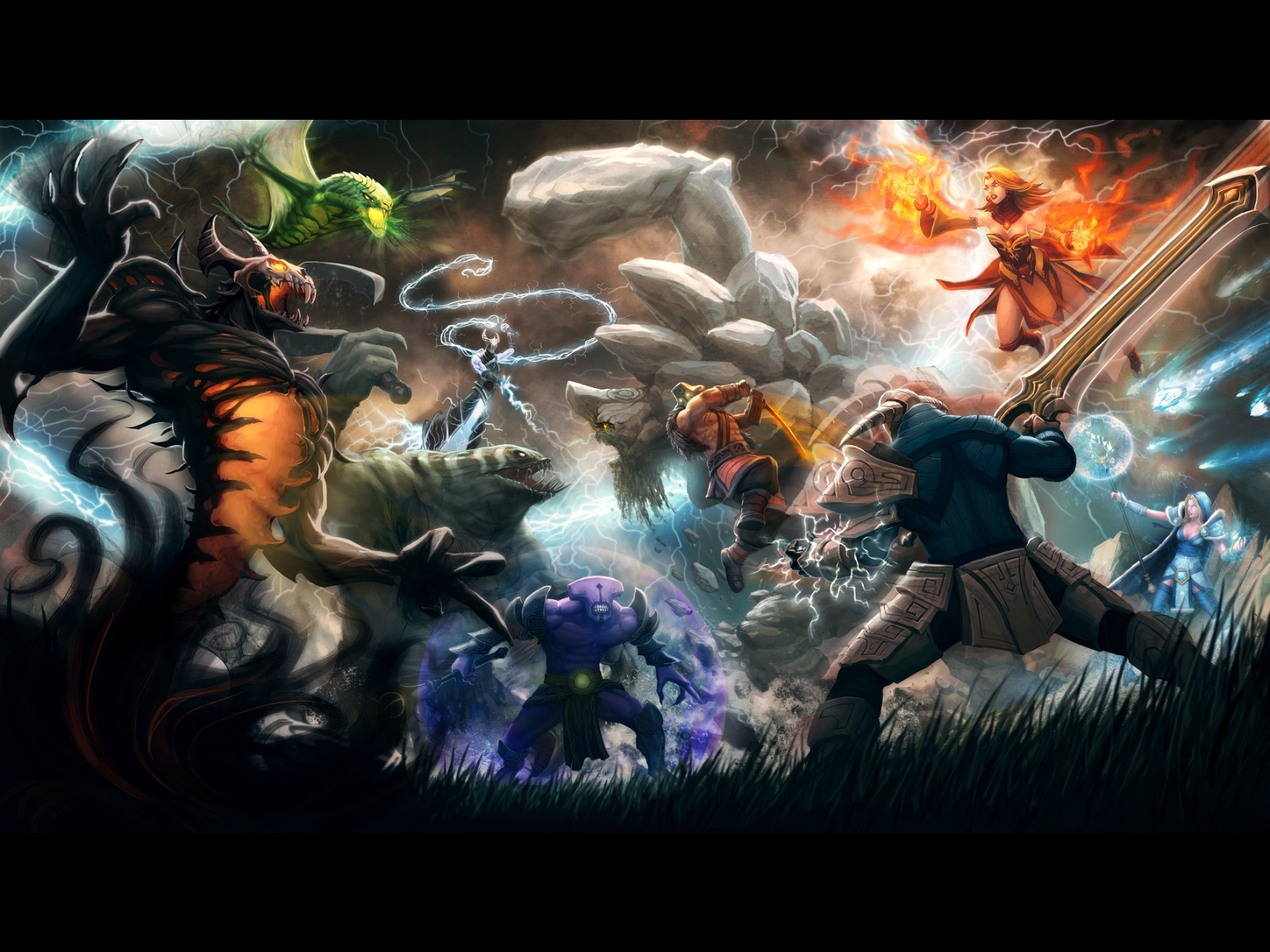Epic Battle Wallpaper 1600x1200 Epic Battle 1600x1200