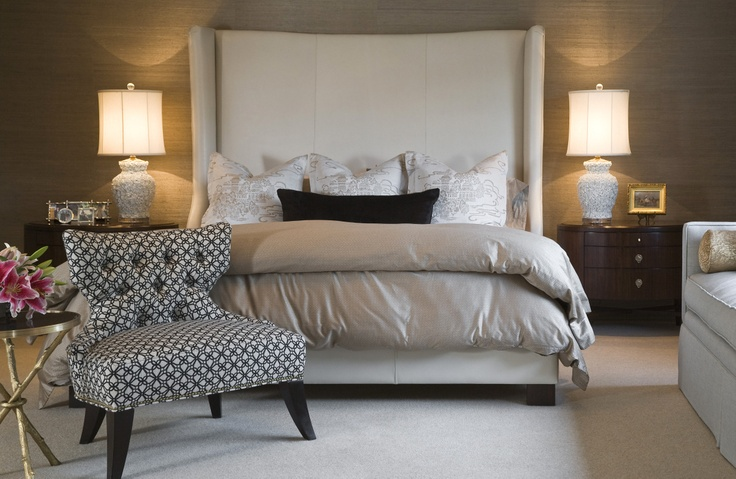GRASSCLOTH WALLPAPER GM Inspirations   Bedroom Pinterest 736x479