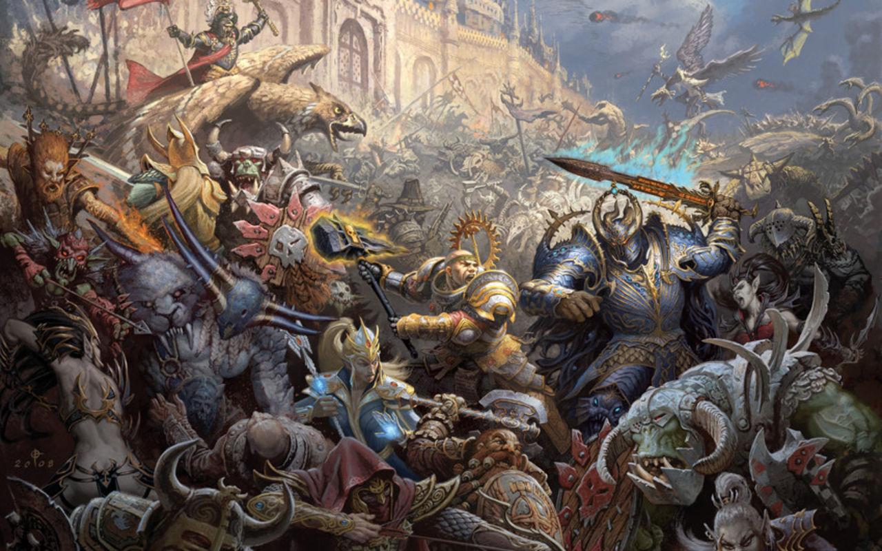 Creative Assembly fr Warhammer licens   Spnnande Feber Spel 1280x800