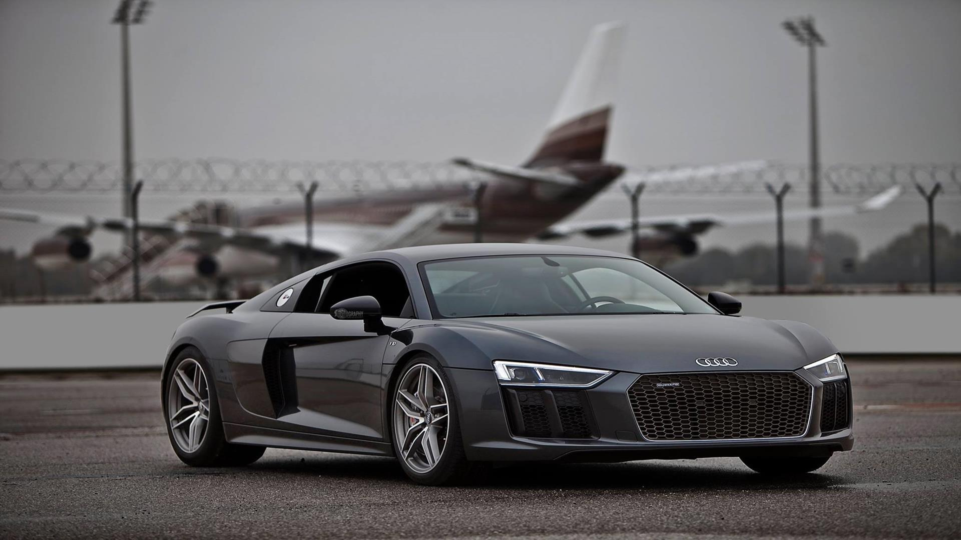 You Can Download 2016 Audi R8 V10 Plus Fullhd Wallpapers 1920x1080