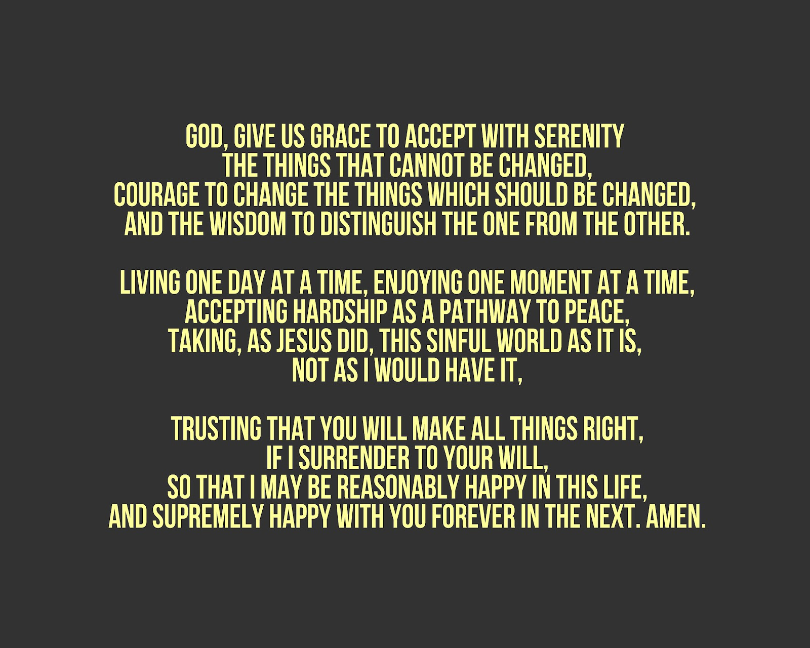 Serenity Prayer Phone Wallpaper Uzueta Pictures 1600x1280