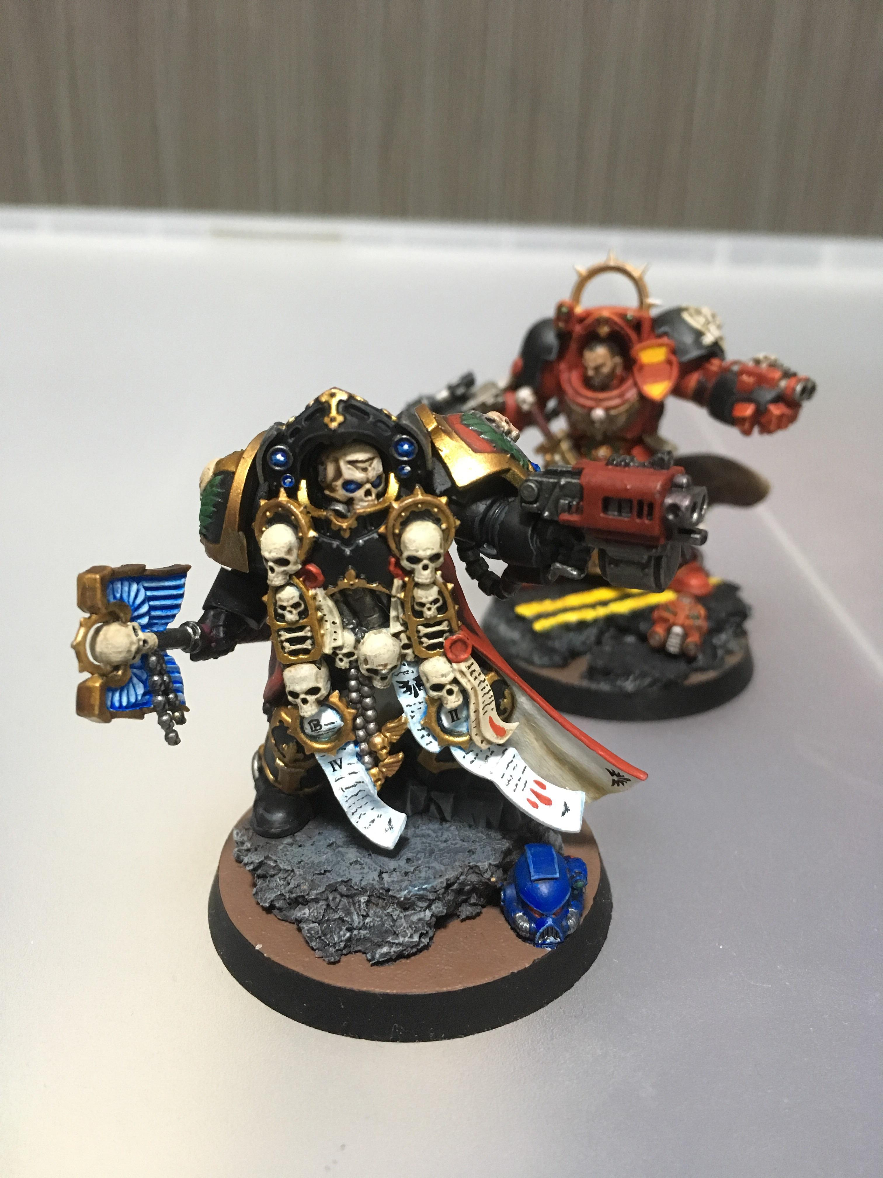 Just finished up my new store opening Chaplain in terminator 3024x4032