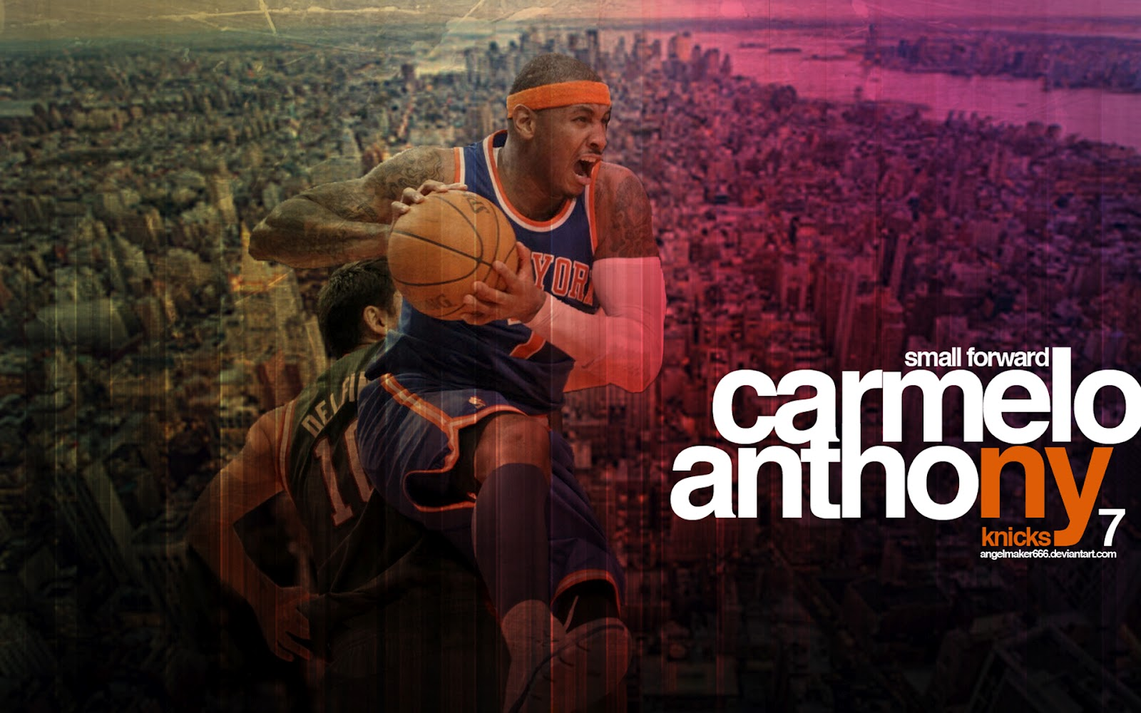 Carmelo Anthony HD wallpapers NBA NBA Wallpapers 1600x1000