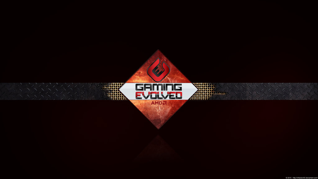 AMD Gaming Evolved   Red Background 4k Ultra HD by Infection93 on 1024x576