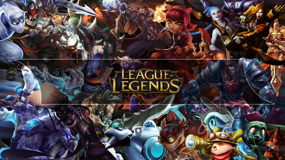League of Legends Wallpaper [HD] by muamerART 1191x670