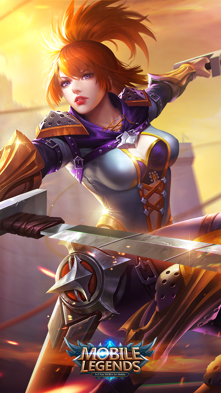 43 New Awesome Mobile Legends WallPapers Mobile Legends   2 Wallpaper 750x1334