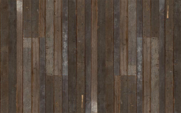 Get the look of eclectic wood paneling without the splinters with the 750x469