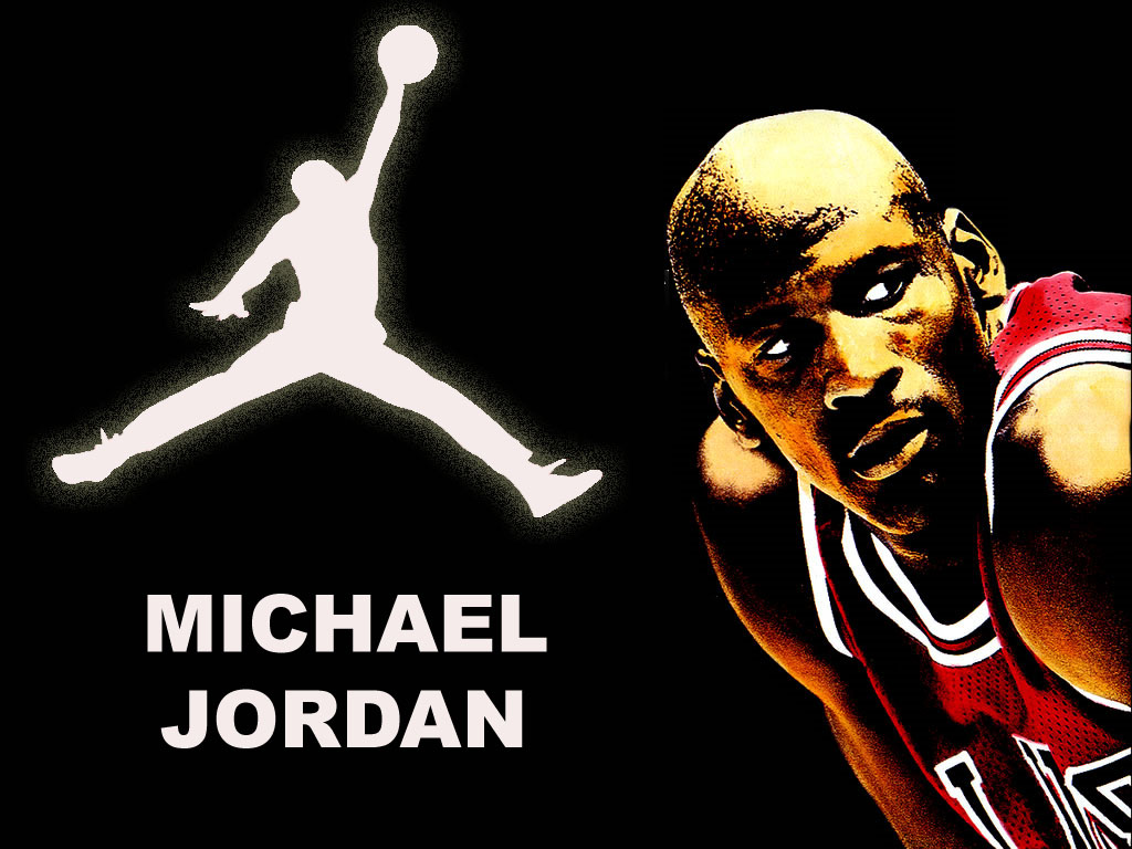 michael jordan logo wallpaper wallpapersafari