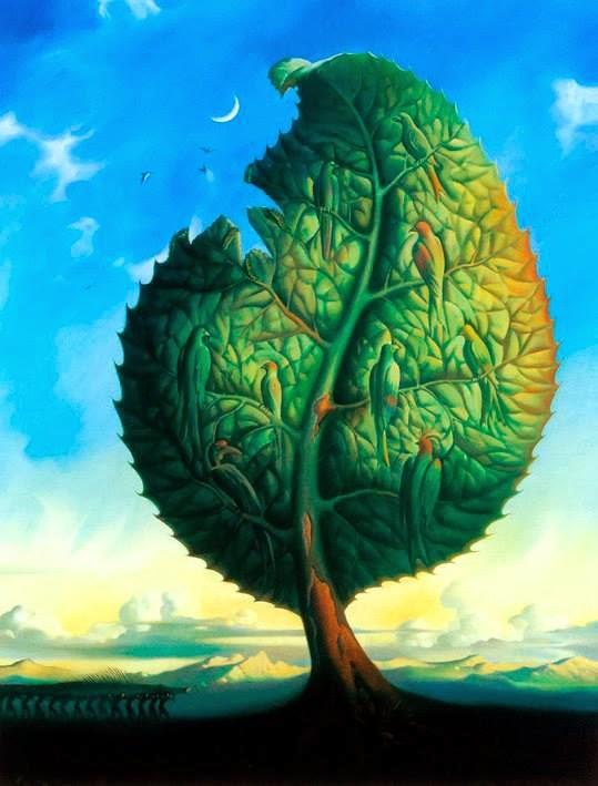 DREAM ZONE Vladimir Kush Paintings Wallpapers 539x709