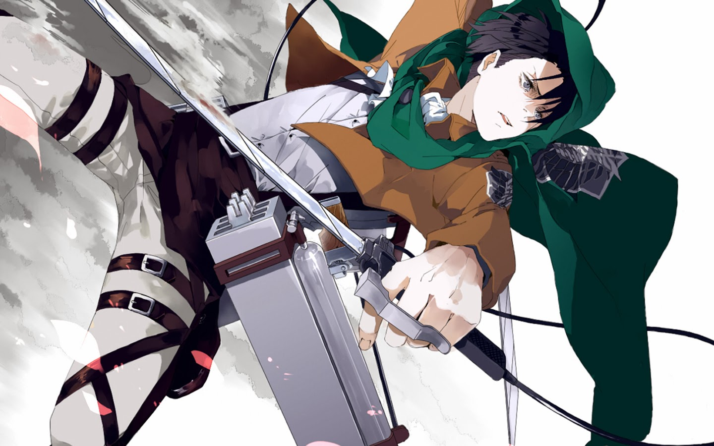 Levi attack on titan shingeki no kyojin anime hd wallpaper 1440x900 6g - Captain Levi Rivaille Attack On Titan Shingeki No Kyojin Anime Hd