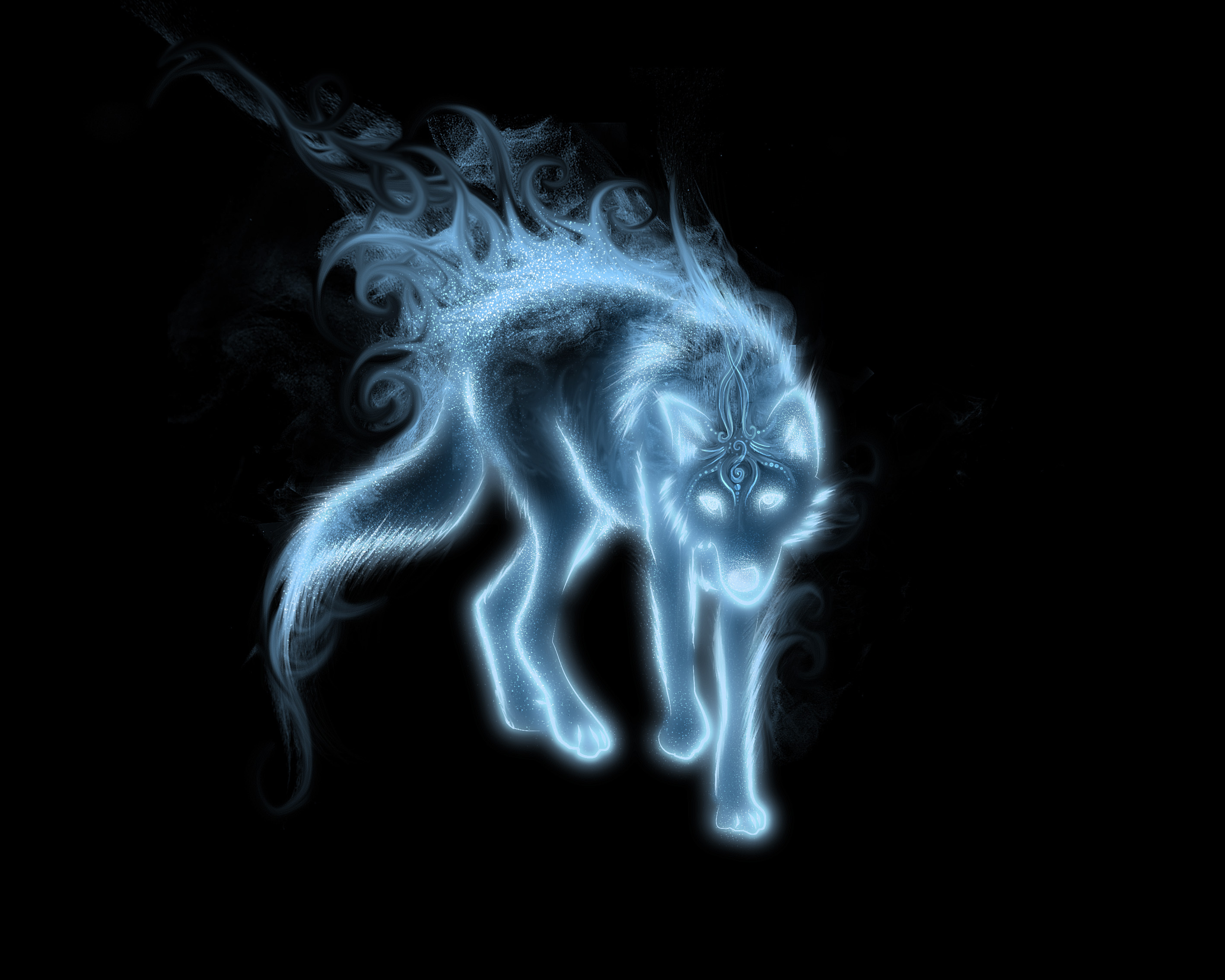 neon fox wallpaper - photo #32