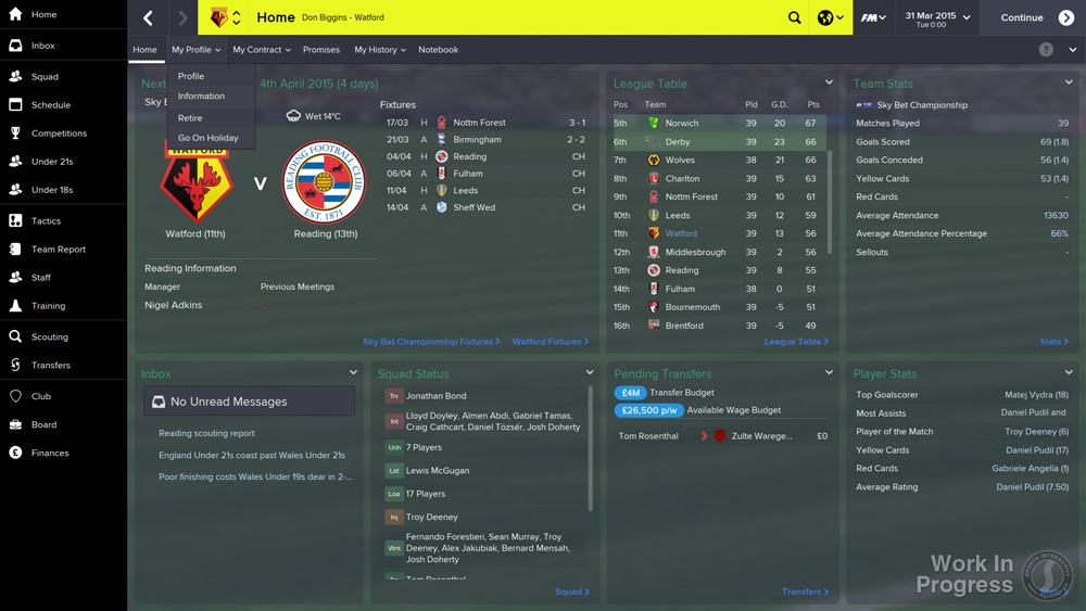 Football Manager 2015 review PCGamesArchivecom 1000x563