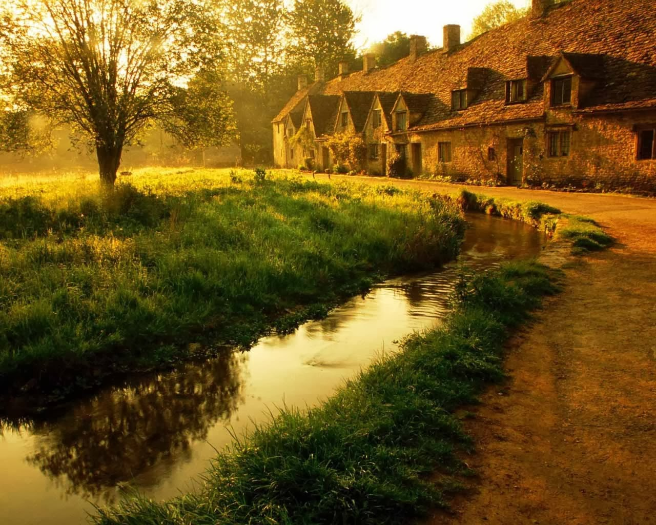 HD Wallpapers English Cottage Wallpapers 1280x1024