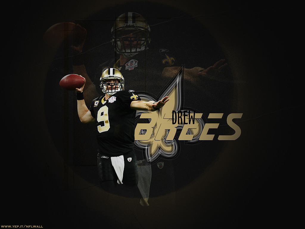 drew brees wallpaper new orleans saints 1024x768 photo 1024x768