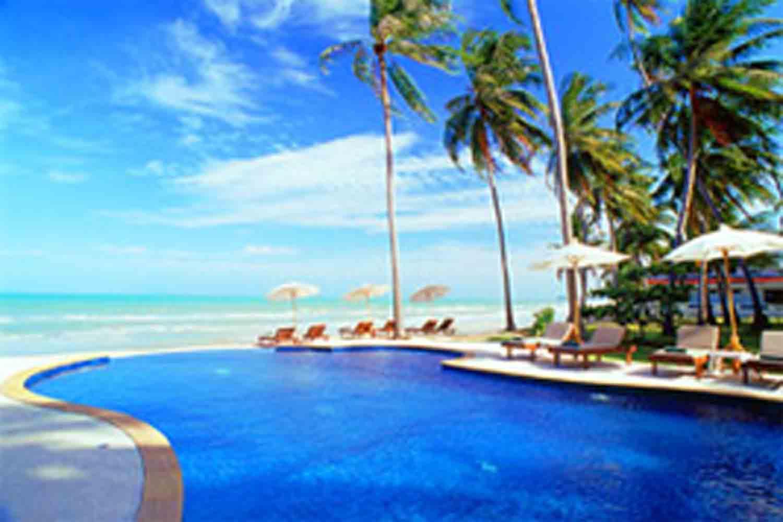 Beach Resort Wallpaper Wallpapersafari