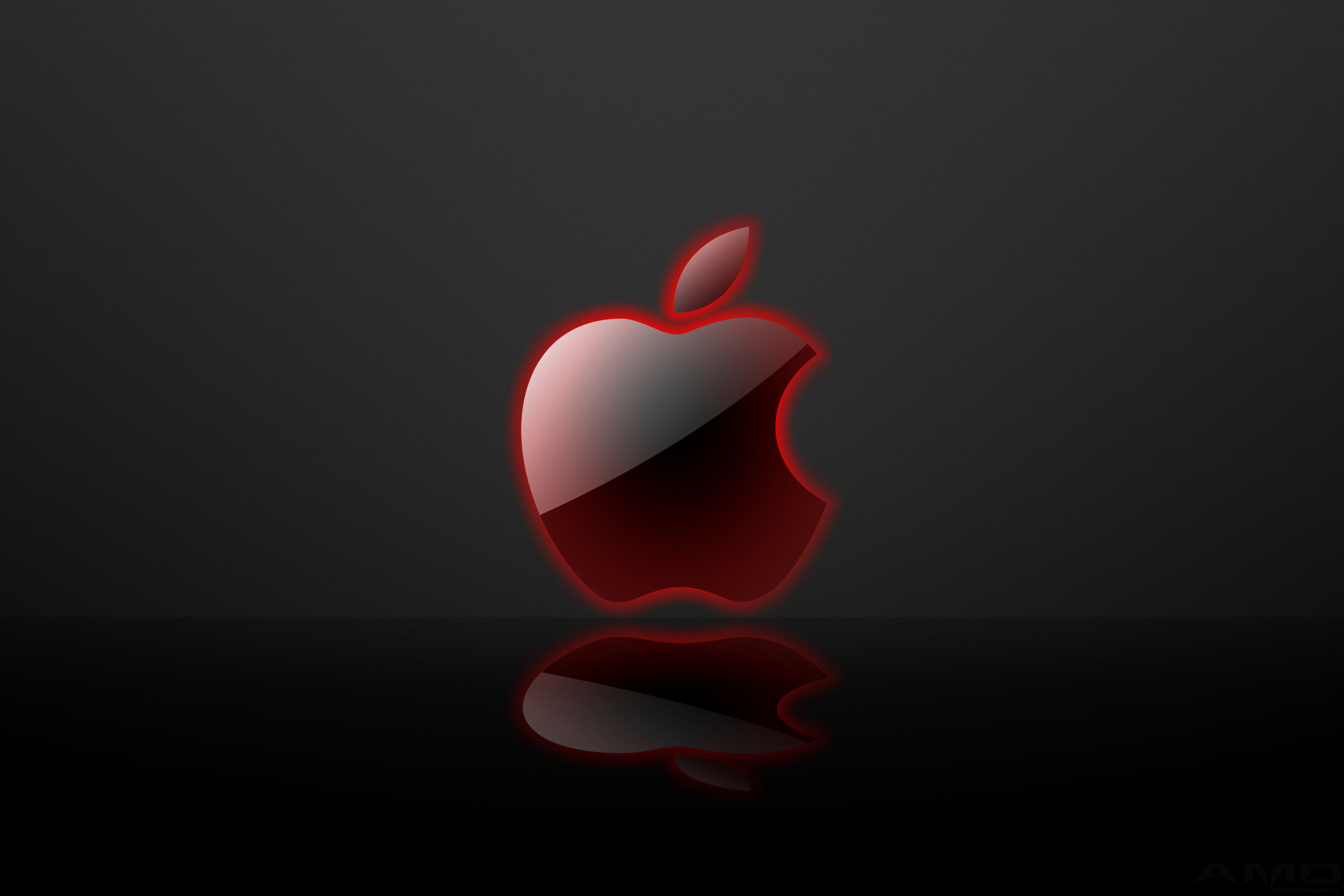 Free Download Red Apple Logo Wallpaper Hd 2500x1667 For