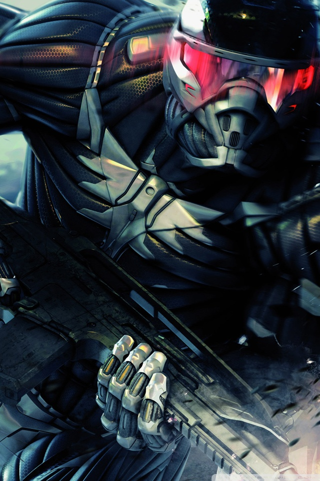 crysis 2 HD Mobile Wallpapers For Your Smart Phone 640x960