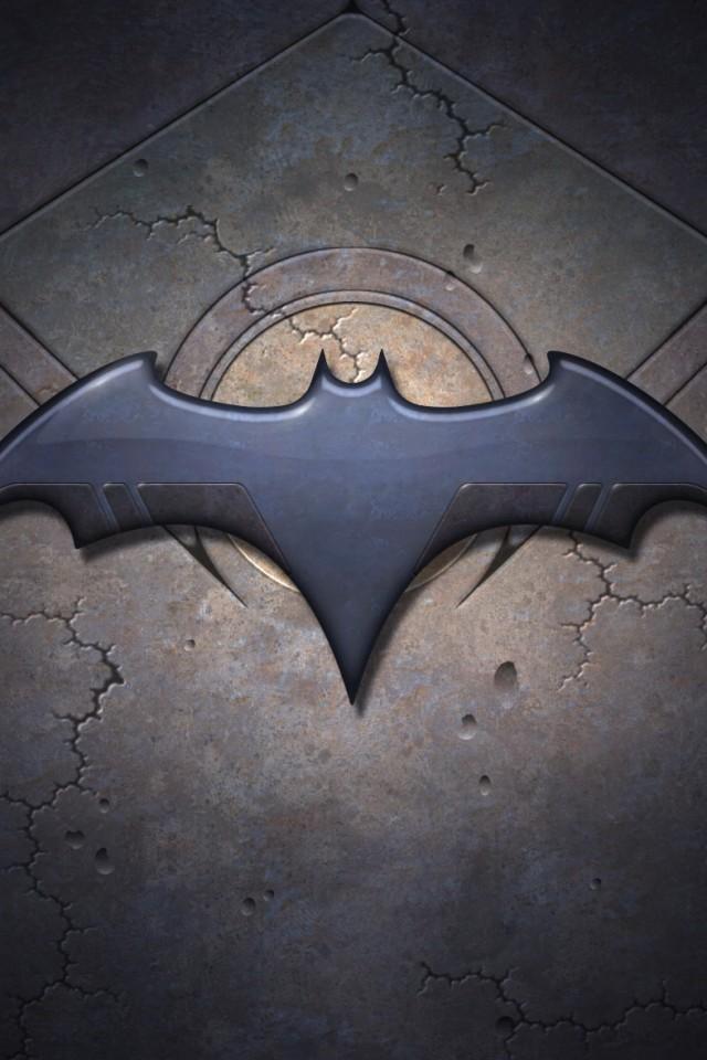 Batman Logo Iphone Wallpaper 640x960 iPhone Wallpaper Gallery 640x960