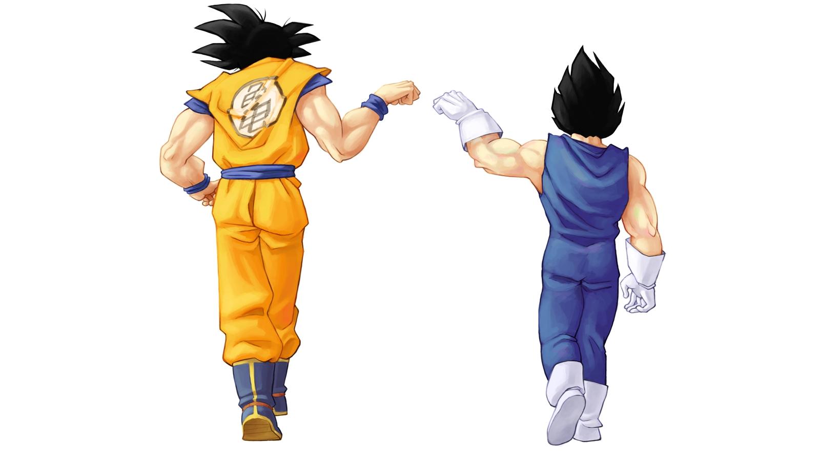 Vegeta Goku Wallpaper 1600x900 Vegeta Goku Dragon Ball Z 1600x900