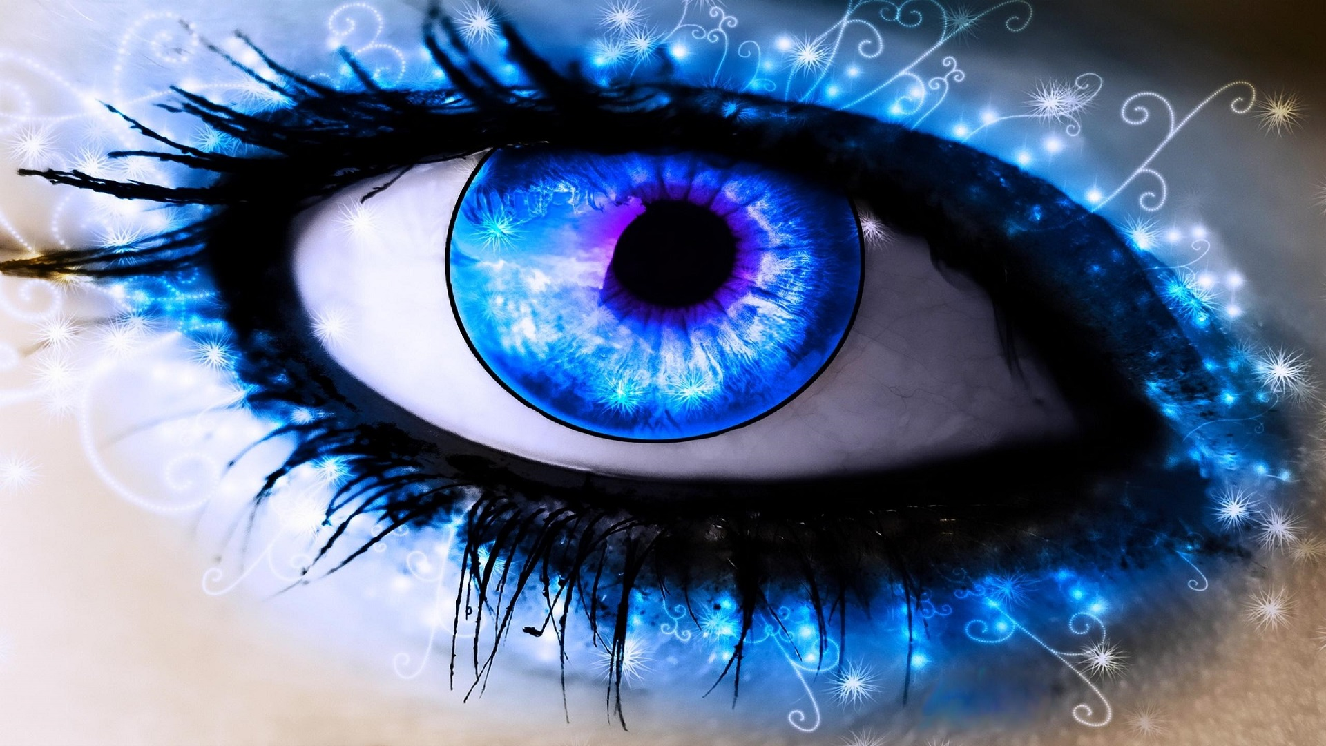 Beautiful Eyes Art 3D amp Abstract HD Wallpapers 1920x1080