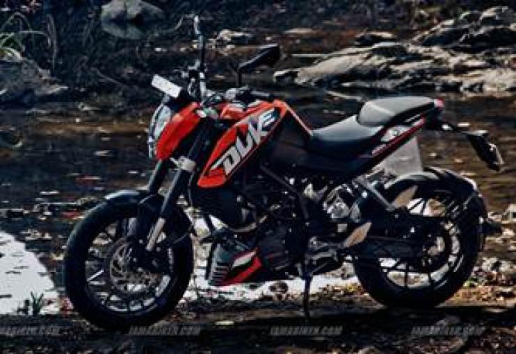 KTM Duke 200 HD wallpapers 742x510