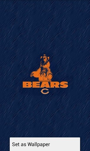 View bigger   Chicago Bears Wallpaper HD for Android screenshot 307x512