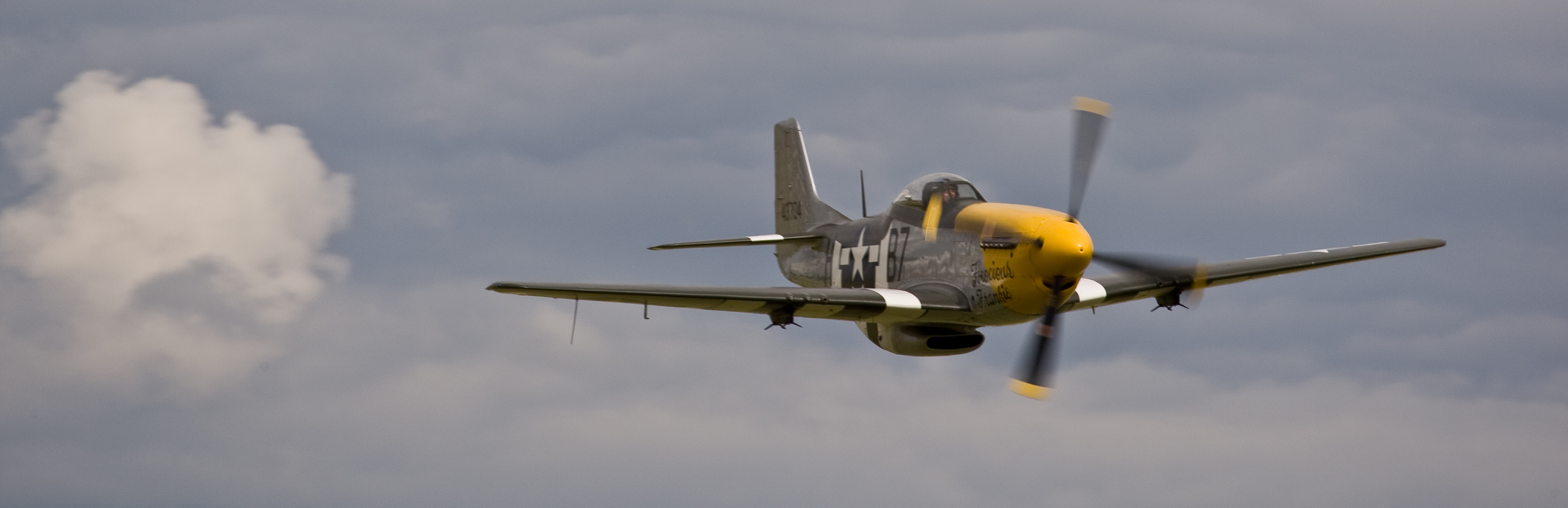 aircraft World War II P 51 Mustang   desktop wallpaper 3888x1259