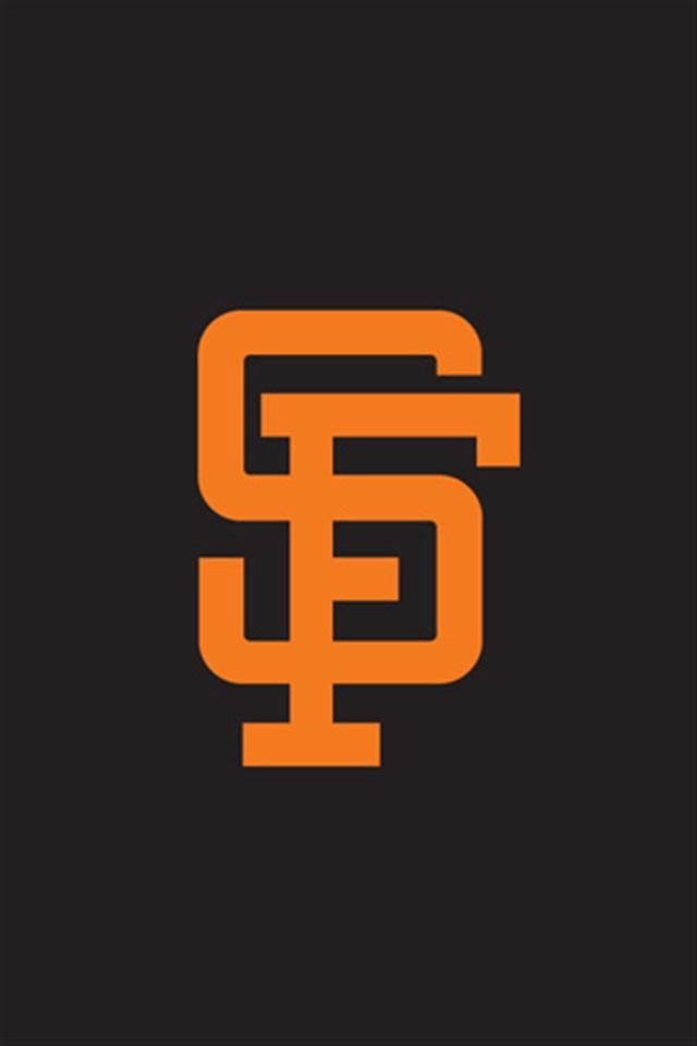 San Francisco Giants 1 LOGO iPhone Wallpapers iPhone 5s4s3G 640x960