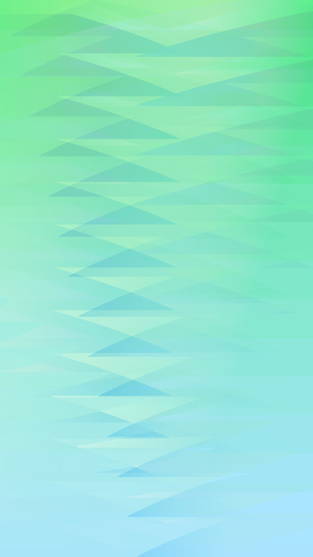 Gradient pattern triangle Blue green wallpapersc iPhone7Plus 1080x1920