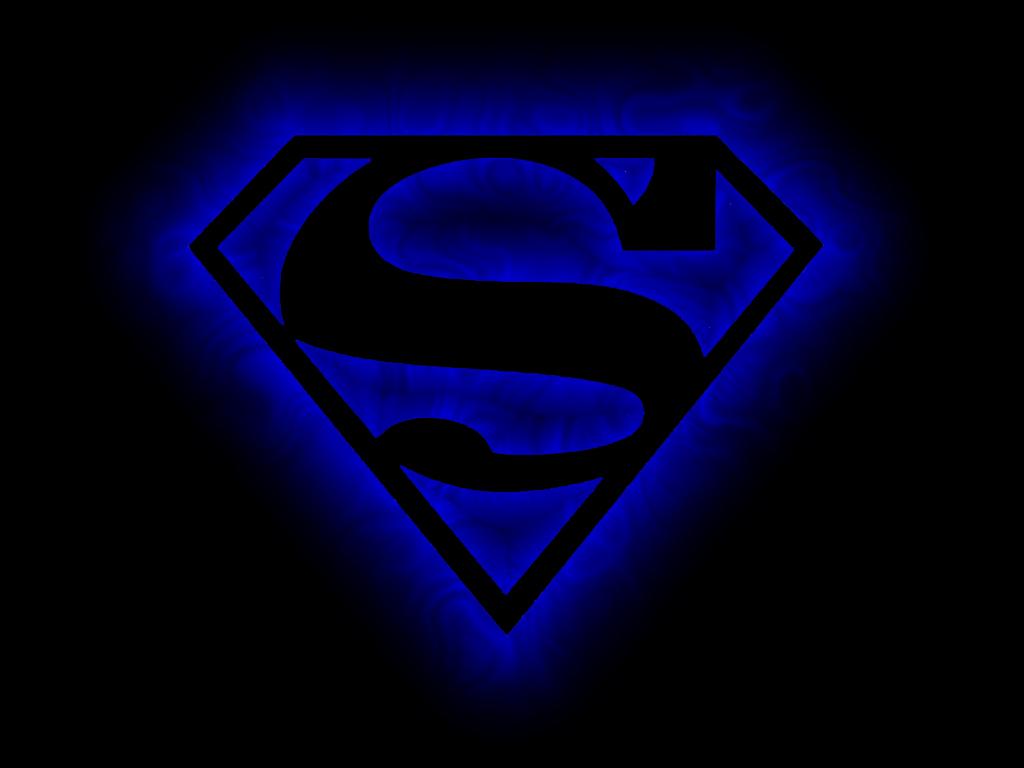 Blue Flare Superman Symbol by veraukoion 1024x768