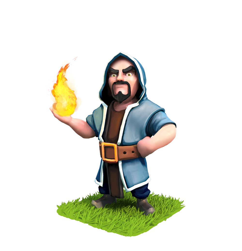 Clash of Clans Wizard Photos Full HD Pictures 1000x1037