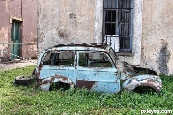 Pin Cars Decay Old Style Abandoned Car Hd Wallpaper Amp Trucks on ...