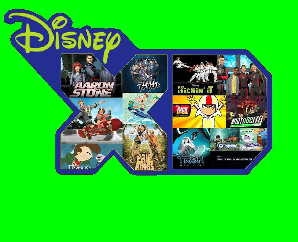 DisneyXD Logo Wallpaper 2013 by EspioArtwork 993x804