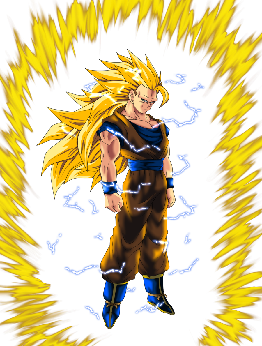 Free Download Super Saiyan 3 Goku By Thehaveorc 900x1188 For