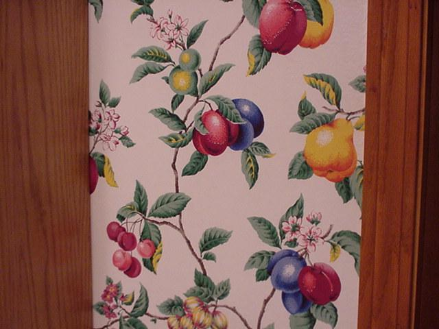Fruit Wallpaper For Kitchen The kitchen had wallpaper 640x480