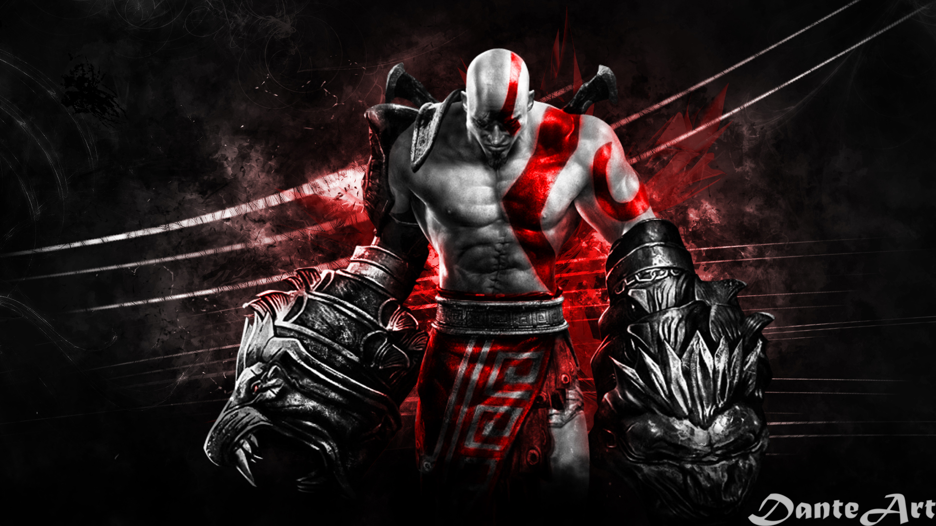 Free Download God Of War Blood And Metal Wallpaper 1178782