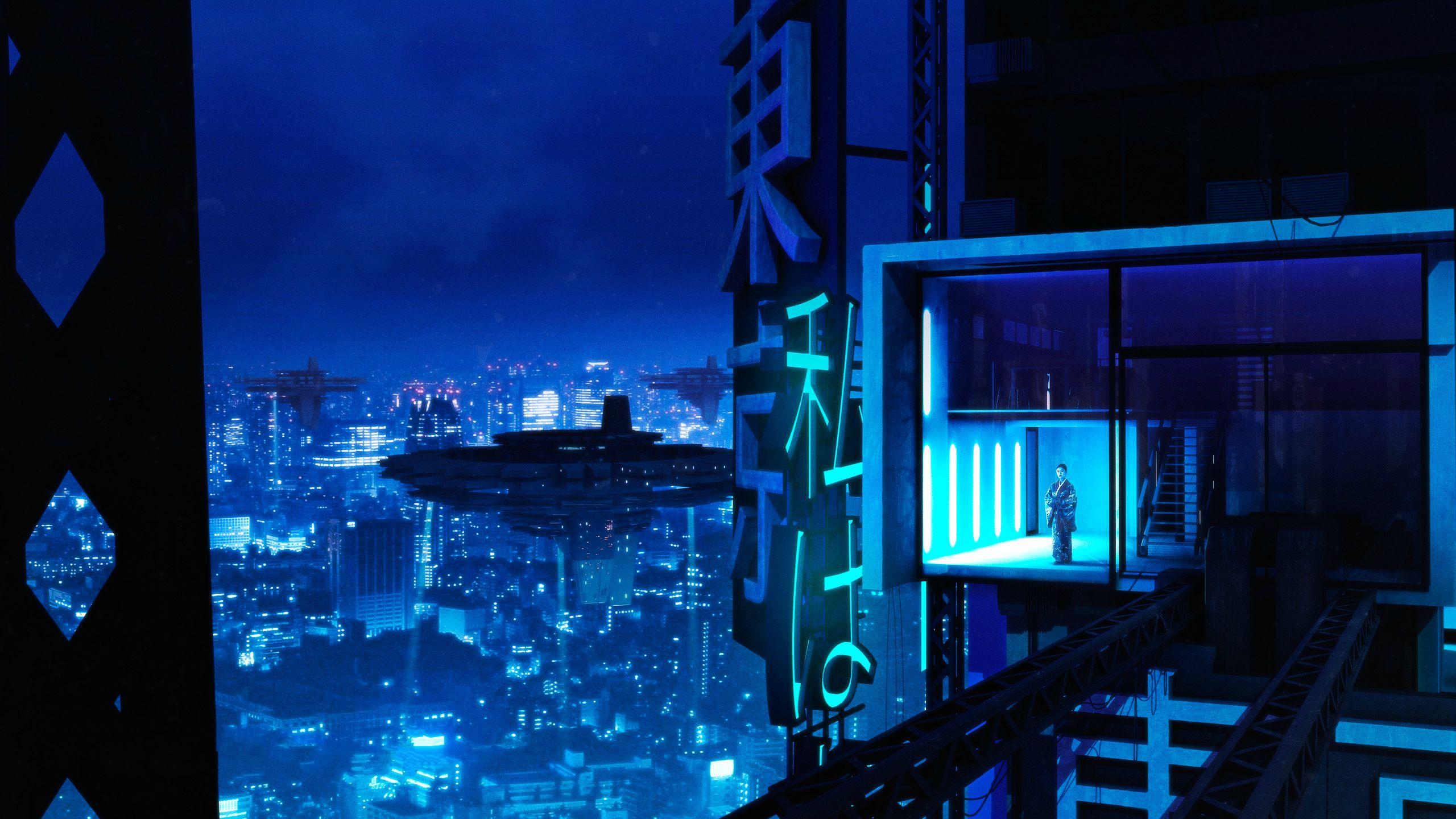 HD Cyberpunk Wallpapers 2560x1440