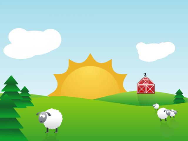 Farm PPT Backgrounds Template for Presentation   PPT Backgrounds 640x480