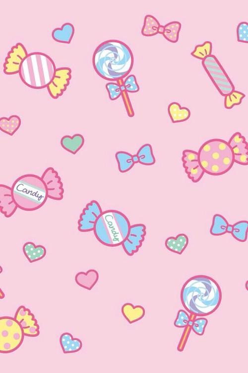 pink kawaii wallpaper - photo #28