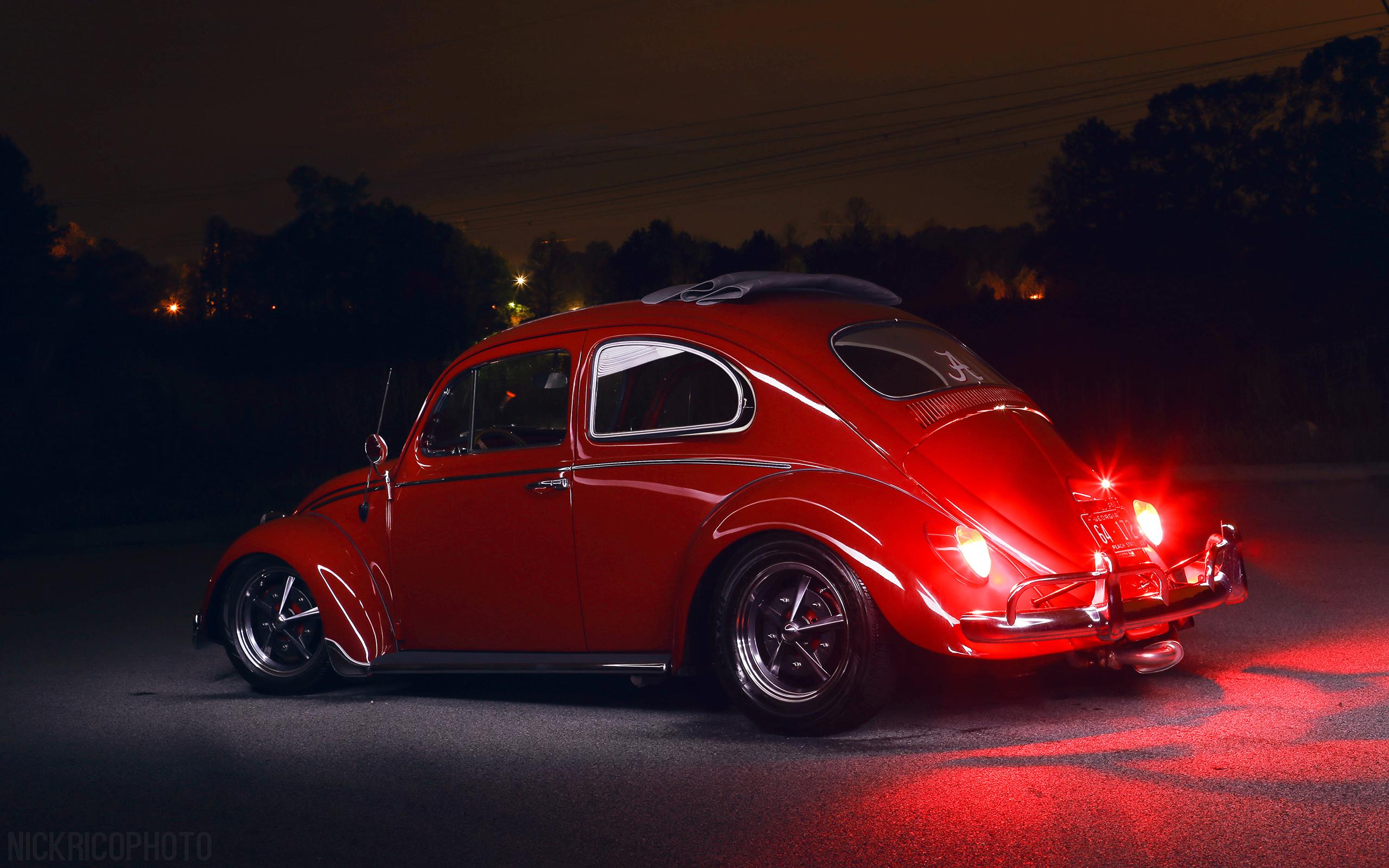 Volkswagen Bug beetle tuning lowrider g wallpaper background 2560x1600
