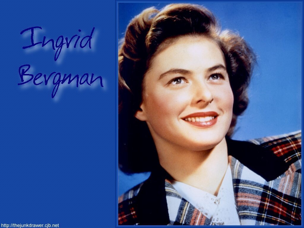 Ingrid Bergman   Classic Actresses Wallpaper 38696145 1024x768