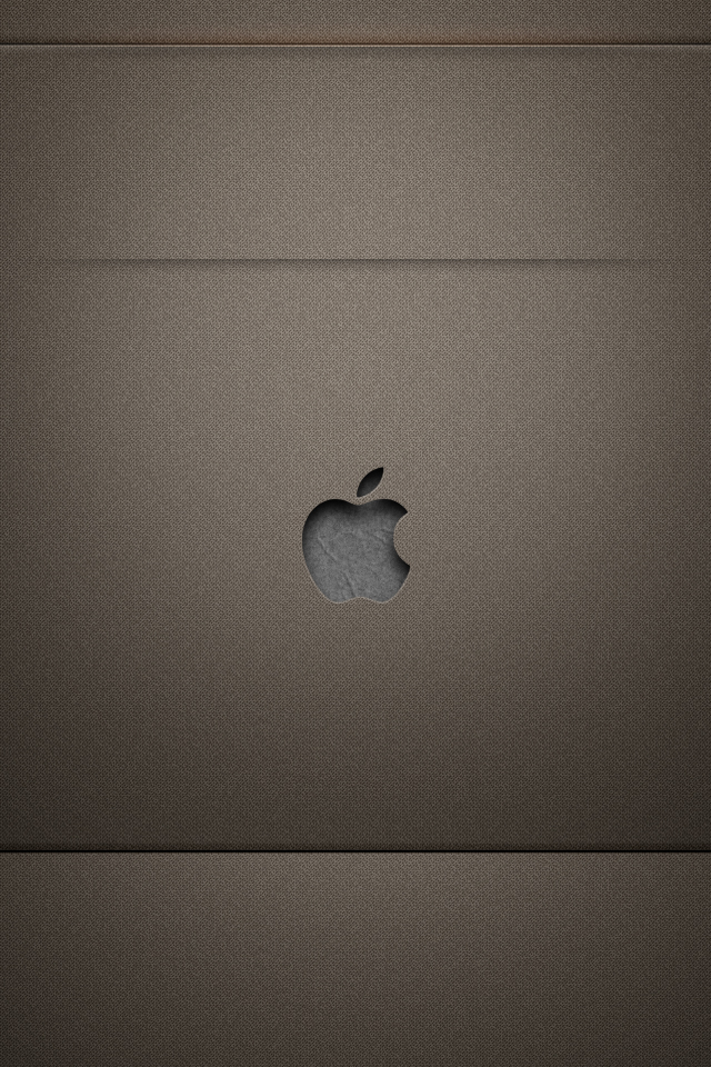 iphone 4s lock screen repapllaw brown by steelhar 640x960