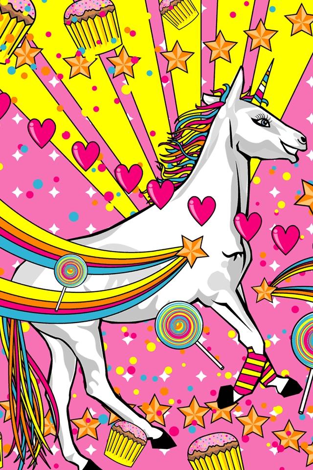 50 Unicorn Iphone Wallpaper On Wallpapersafari