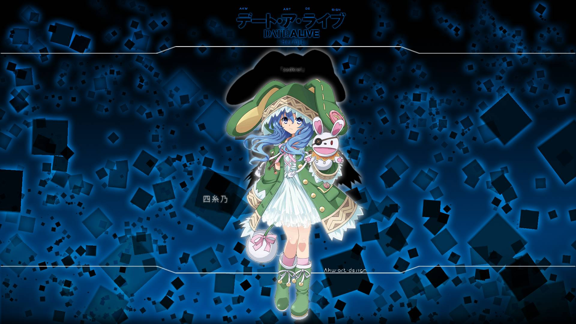 dark yoshino wallpaper   Date A Live Wallpaper 1920x1080