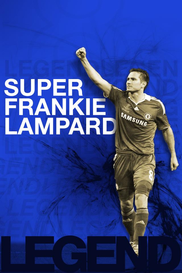 Super Frankie Lampard Chelsea iPhone Wallpaper 640x960