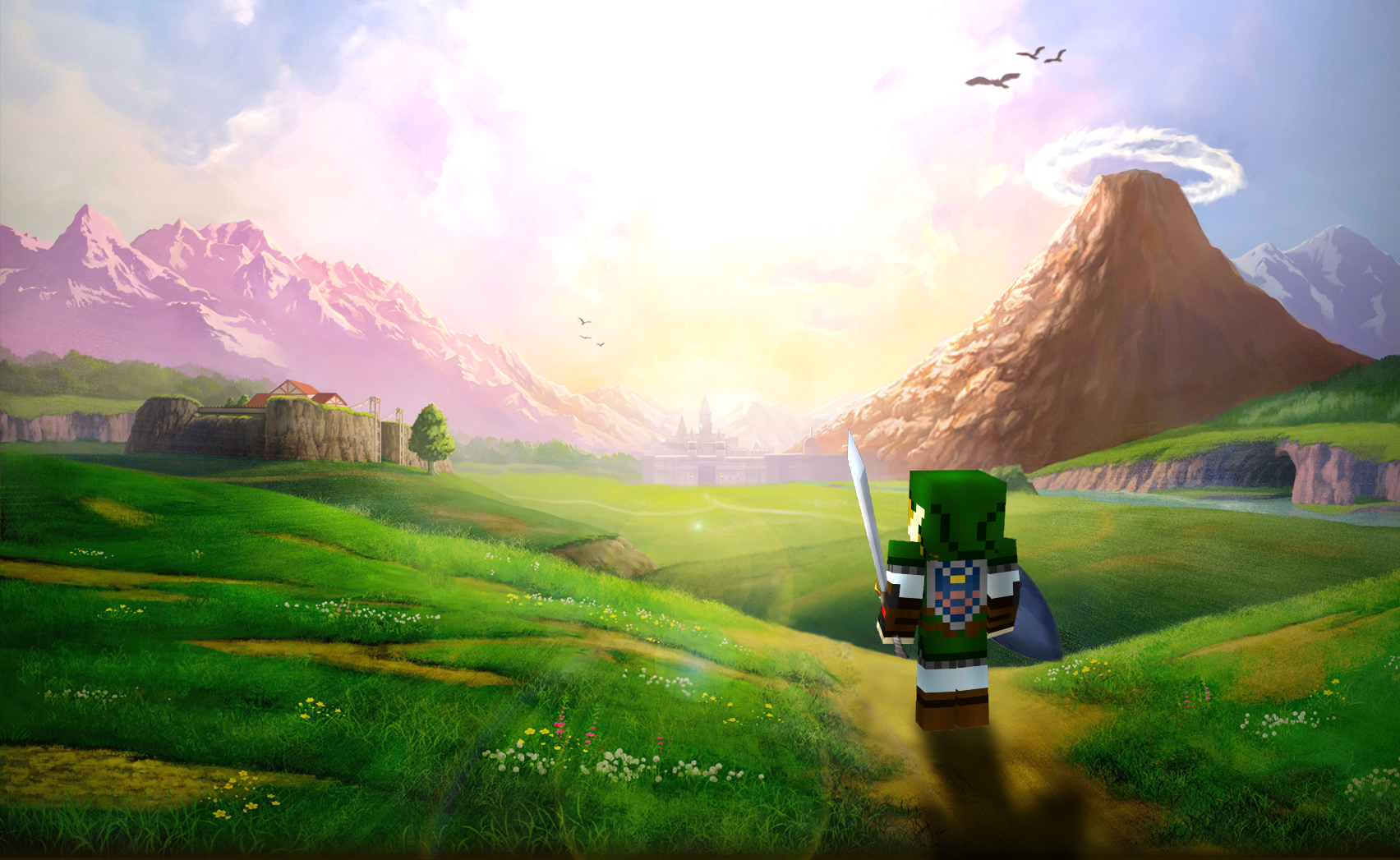 Minecraft Background Art Gallery [HD] Minecraft Blog 1704x1047