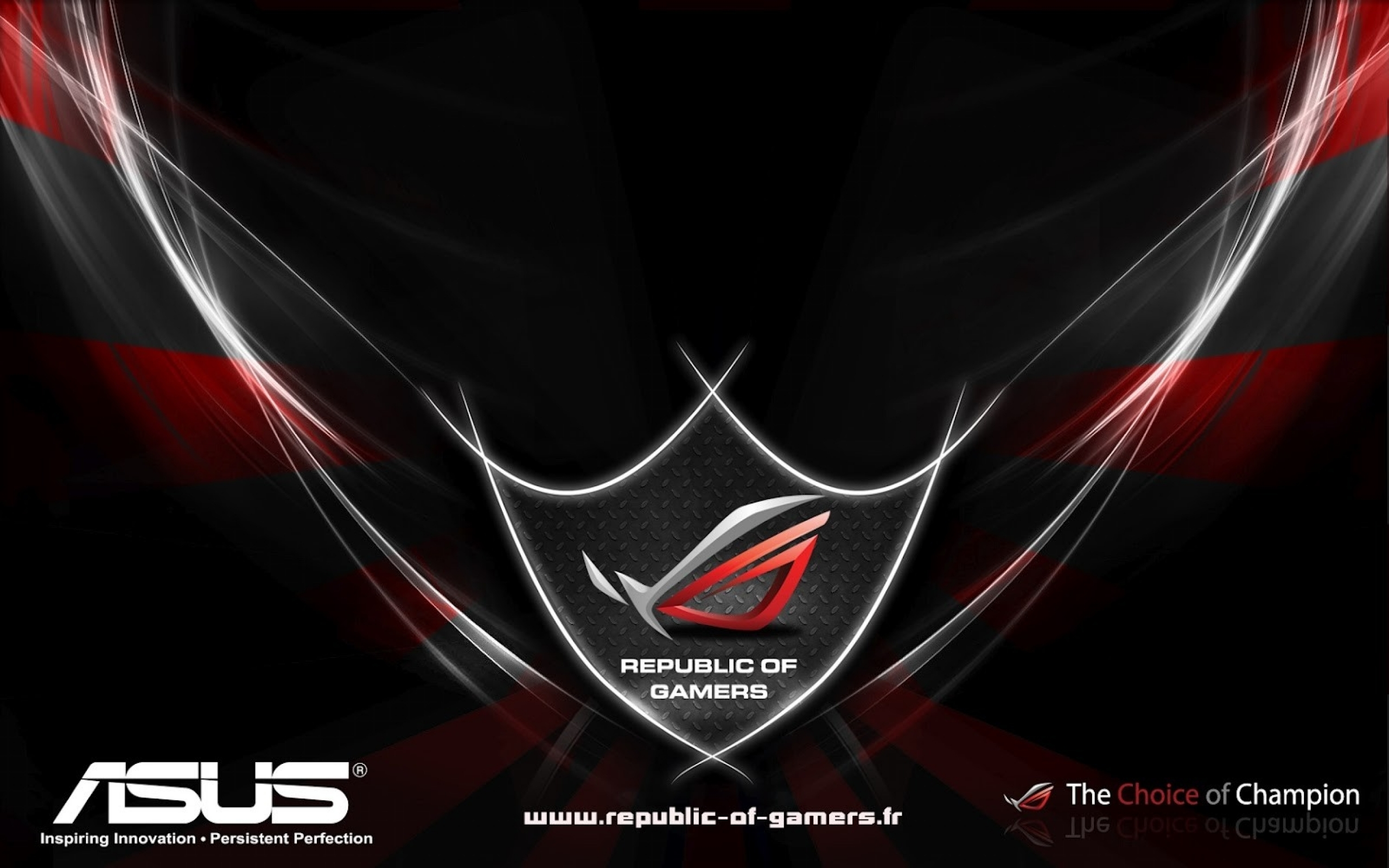 asus rog republic of gamers 1600x1000 wallpaper Art HD Wallpaper 2560x1600